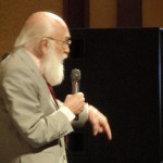 James Randi at TAM 8 Reception
